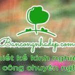 Bancongnhadep.com chuyên thiết kế ban công tại Hà Nội