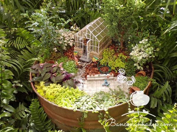 khu vườn handmade đẹp
