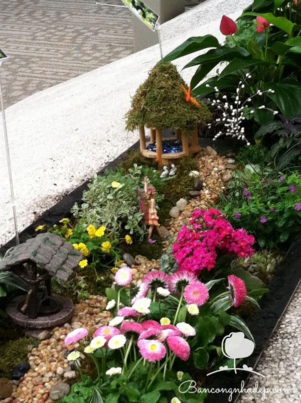 khu vườn mini đẹp