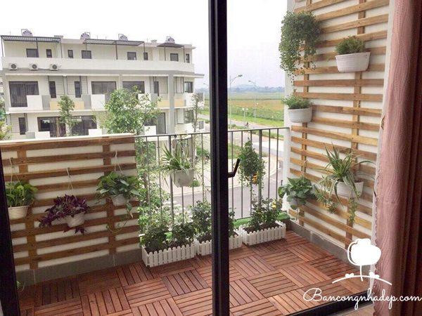 trang trí ban công chung cư nhà chung cư