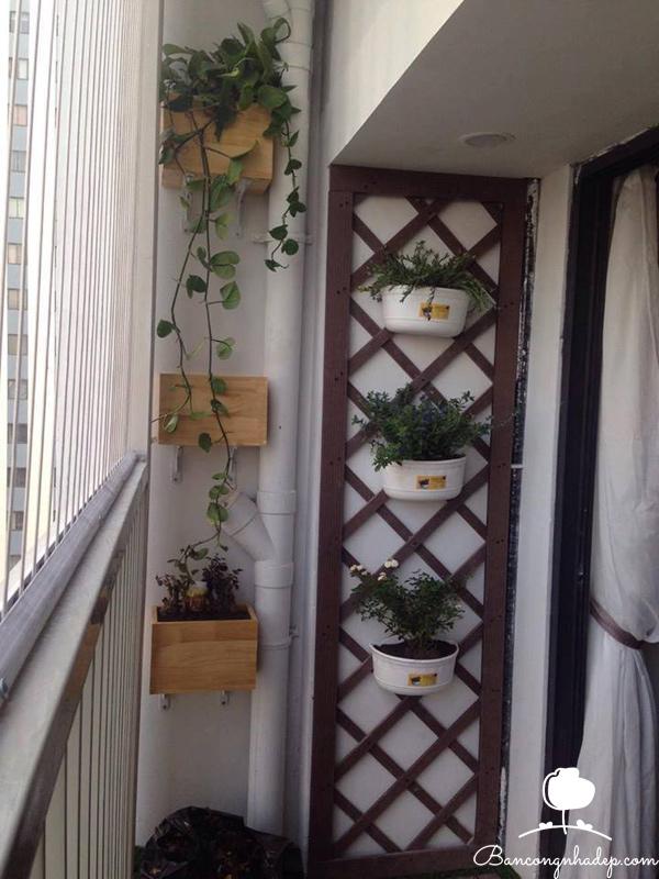 trang trí ban công chung cư nhỏ