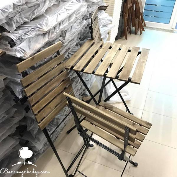 bàn ghế ban công chung cư chịu nước