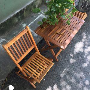 ban ghế ban công chung cư đẹp