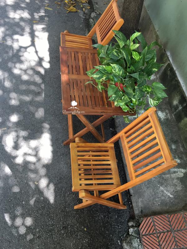 bàn ghế để ngoài ban công giá rẻ