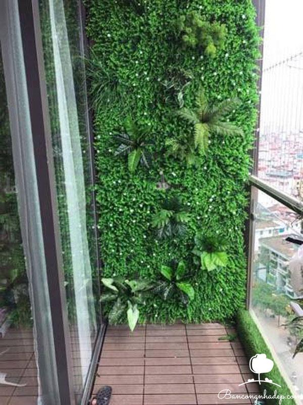tường cây nhân tạo đẹp