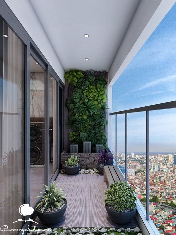 thiết kế ban công chung cư