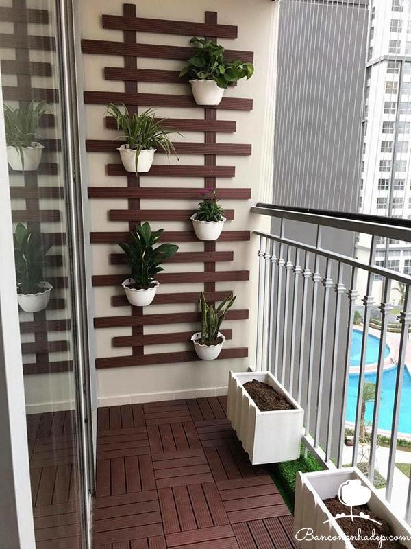 trang trí ban công chung cư đẹp