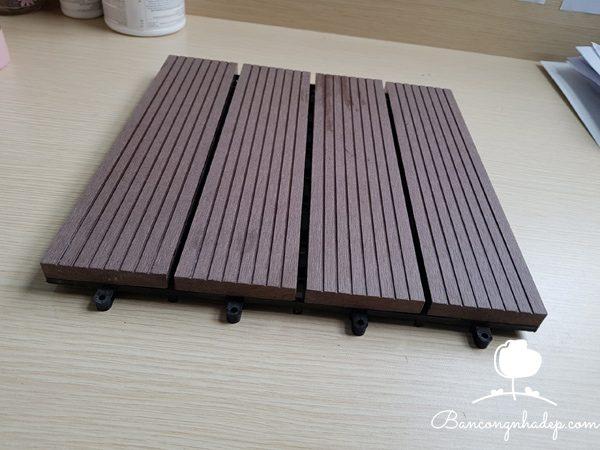 vỉ gỗ nhựa ban công